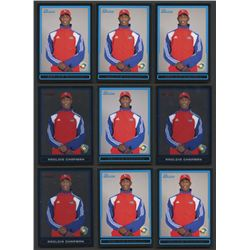 Lot of (22) Aroldis Chapman Rookie Cards  (BV $60+)