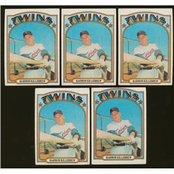Lot of (10) Vintage Harmon Killebrew Baseball Cards (BV $60)