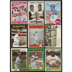 Lot of (23) Vintage Willie Stargell Baseball Cards