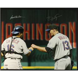 Paul LoDuca & Billy Wagner Signed Mets 16x20 Photo (Steiner COA)