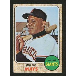 1968 Topps #50 Willie Mays