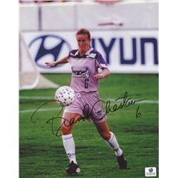 Brandi Chastain Signed 8x10 Photo (GA COA)