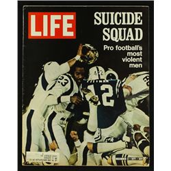 "Rams & Colts ""Suicide Squad"" Vintage Life Magazine From 1971"