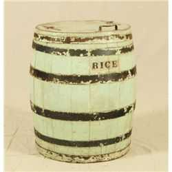 Rice Barrel from Victoria, Texas Country Store