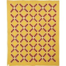 Red & Yellow Texas Quilt