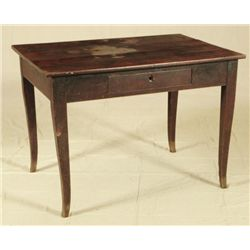 Texas Biedermeier Walnut Table