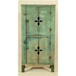Green Painted Cupboard  Moulton, Texas