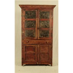 Jacksonville Texas Punched Tin Cupboard