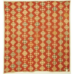 Diamond Patterned Texas Quilt