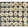 Collection of 30 Pioneer Flour Calendar Plates
