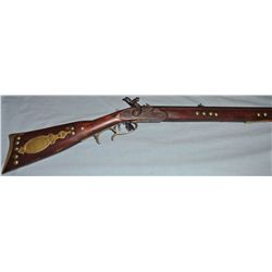 Full stock tacked Leman trade rifle, ca. 1850-1860, from Custer Battlefield Trading Post, Crow Agenc