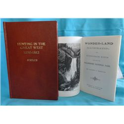Shields, G.O., Hunting in the Great West 1880-1882, signed, ltd ed #33/50, in leather; and Harry Nor