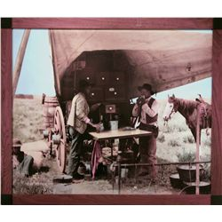"Huffman, L.A., Round Up Cook and the Pie Biter at Work 1880's, HC photograph, 36"" x 30""."