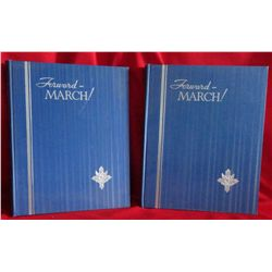 Mackey, Frank J. and Marcus Wilson Jernegan,  Forward March (in 2 vols).