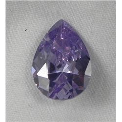 5.56 Ct. Natural Light Purple Pear Gemstone