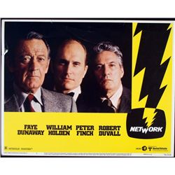 Network Original Movie Lobby Card Robert Duvall 1976