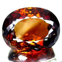 ENORMOUS 196.78ct. IMPERIAL TOPAZ UNHEATED