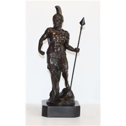 Regal Bronze Sculpture Spartacus