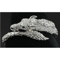 GT0522120007 Swarovski Crystal Horse Bangle Bracelet m