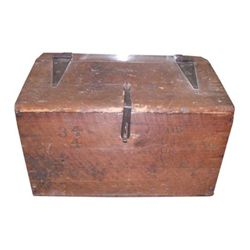 WOODEN CIVIL WAR TRUNK