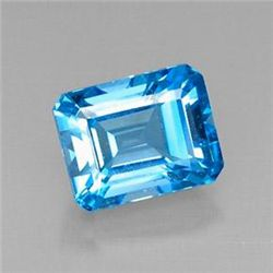 8.43ct Swiss Blue Topaz
