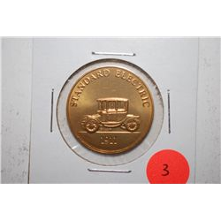 1911 Standard Electric Collectible Automobile Token; EST. $3-6