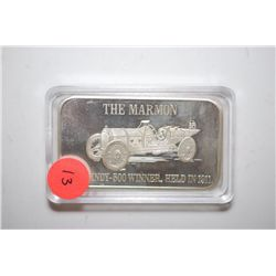 "Silver Ingot ""Mark IV The Marmom""; First Indy 500 Winner, Held In 1911; EST. $35-45"