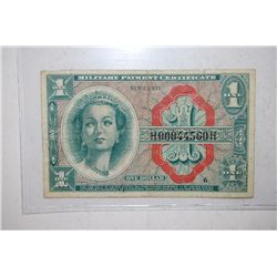 US Military Payment Certificate $1; Series 611; EST. $3-5