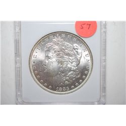 1883-O Silver Morgan $1; MCPCG Graded MS63; EST. $65-90