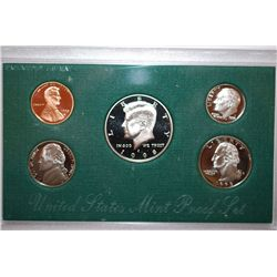 1998-S US Mint Proof Set; EST. $10-15
