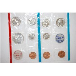 1968 US Mint Coin Set; P,S&D Mints; UNC; EST. $8-15