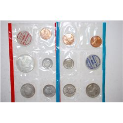 1969 US Mint Coin Set; P,S&D Mints; UNC; EST. $8-15