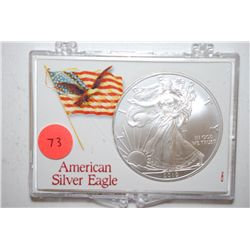 2010 Silver Eagle $1 In American Silver Eagle Holder; EST. $35-45