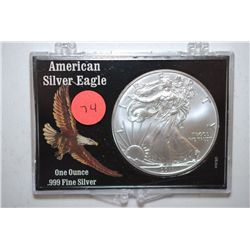2011 Silver Eagle $1 In American Silver Eagle Holder; EST. $35-45