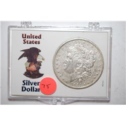 1881-O Silver Morgan $1 In United States Silver Dollar Holder; EST. $30-40