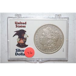1882-O Silver Morgan $1 In United States Silver Dollar Holder; EST. $30-40