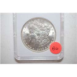 1900 Silver Morgan $1; MCPCG Graded MS62; EST. $50-65