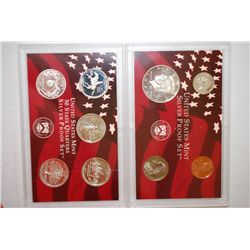 1999-S US Mint Silver Proof Set With State Quarter Mint Silver Proof Set; EST. $95-105