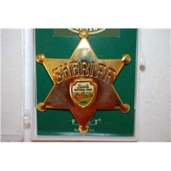 Fred Harvey Trading Co. Collectible Sheriff Badge; Grand Canyon Nat'l Park Ariz.; EST. $5-10