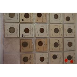 Mexico Foreign Coin; Various Dates, Denominations & Conditions; Lot of 18; EST. $10-20