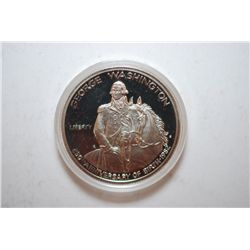 1982-S US George Washington 250th Anniversary Of Birth Commemorative Half Dollar Proof; .900 Silver