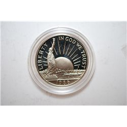 1986-S US Liberty Nation Of Immigrant Commemorative Half Proof; EST. $5-10