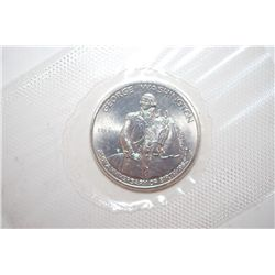 1982-D US George Washington 250th Anniversary Of Birth Commemorative Half Dollar; UNC; EST. $10-20