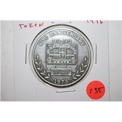1976 U.S.P.S. 60th Anniversary Domestic Parcel Post Service Token; EST. $3-5