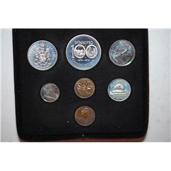 1974 Canada Mint Foreign Coin Set; UNC; Royal Canadian Mint; EST. $5-10