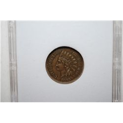 1859 Indian Head One Cent; MCPCG Graded EF40; EST. $100-125