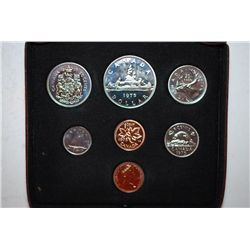 1975 Canada Mint Foreign Coin Set; UNC; Royal Canadaian Mint; EST. $5-10