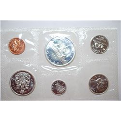 1966 Canada Mint Foreign Coin Set; UNC; EST. $20-30