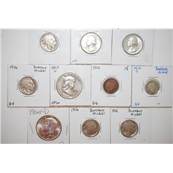 Various United States Coins; Various Dates, Denominations & Conditions; Lot of 10; EST. $60-80