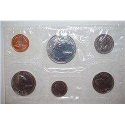 1980 Canada Mint Foreign Coin Set; UNC; Royal Canadian Mint; EST. $5-10